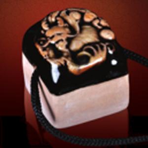 龙游石窟红砂岩/陶瓷印 WZ-7006C